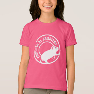 ハムスターによって動力を与えられる Tシャツ