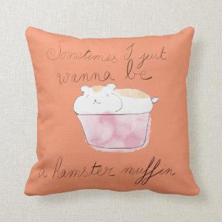 ハムスターのマフィンの枕 クッション