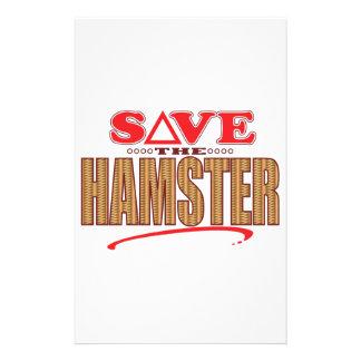 ハムスターの保存 便箋