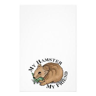 ハムスターの友人 便箋