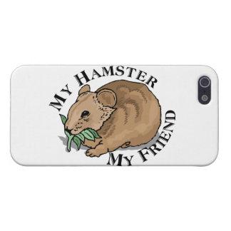 ハムスターの友人 iPhone SE/5/5sケース
