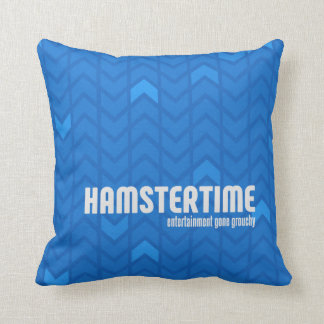 ハムスターの時間正方形の枕 クッション