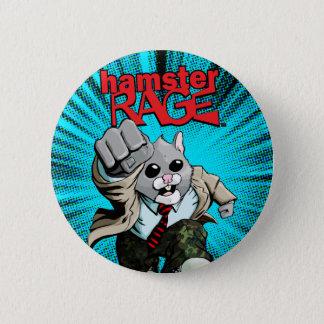 ハムスターの激怒ボタン 缶バッジ