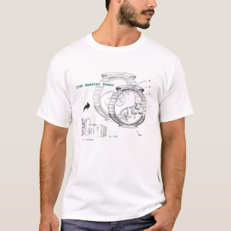 ハムスター力のTシャツ Tシャツ