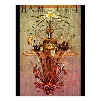 「ハムレット」の郵便はがき ポストカード