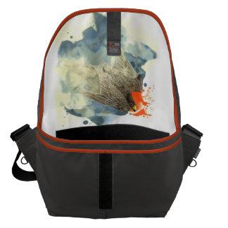 ハヤブサのバッグ メッセンジャーバッグ