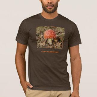 ハラタケのきのこのTシャツ Tシャツ