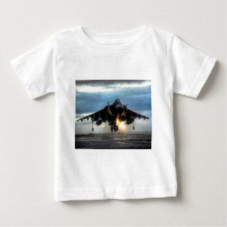 ハリアーの戦闘機 ベビーTシャツ