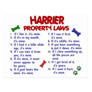 ハリアーの特性の法律2 ポストカード
