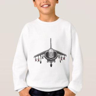 ハリアーはジェット機を跳びます スウェットシャツ