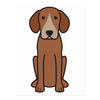 ハリアー犬の漫画 ポストカード