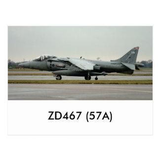 ハリアーGR9 ZD467 (57A) ポストカード