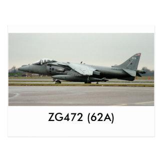 ハリアーGR9 ZG472 (62A) ポストカード