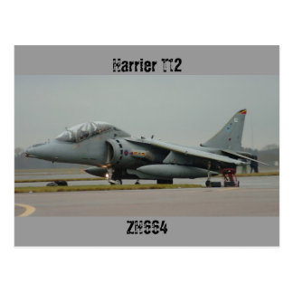 ハリアーT12 ZH664 112の最後の飛行 ポストカード