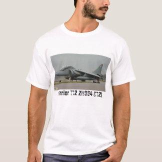 ハリアーT12 ZH664 (112)の最後の飛行 Tシャツ