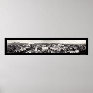 ハリウッドのカリフォルニアの写真1929年 ポスター