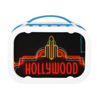 ハリウッドのネオンサイン、ロサンゼルス、カリフォルニア ランチボックス