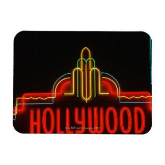 ハリウッドのネオンサイン、ロサンゼルス、カリフォルニア 柔らかいマグネット