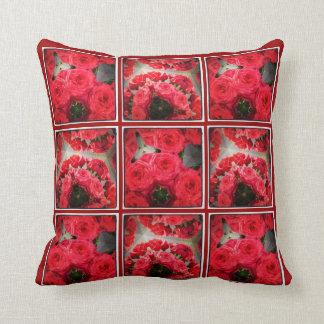 ハリウッドのロマンチックなバラの枕 クッション