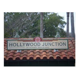ハリウッドの中継局の郵便はがき ポストカード