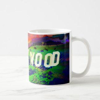 ハリウッドの印のマグ コーヒーマグカップ