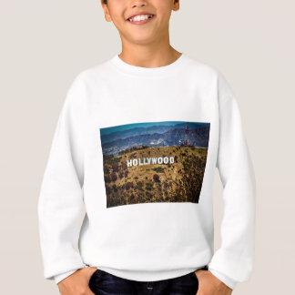 ハリウッドの印の画像的な山ロサンゼルス スウェットシャツ