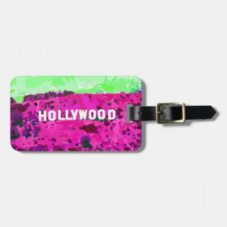ハリウッドの印ロサンゼルスカリフォルニア ラゲッジタグ