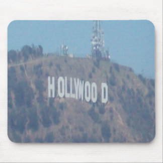 ハリウッドの印 マウスパッド
