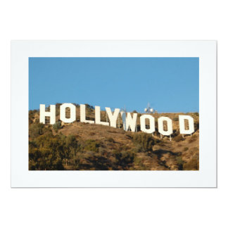 ハリウッドの招待状 カード