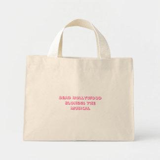 ハリウッドの死んだブロンドの女性ミュージカル ミニトートバッグ