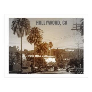 ハリウッドの美しい郵便はがき! ポストカード