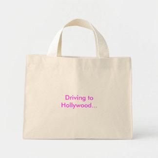 ハリウッドへの運転… ミニトートバッグ