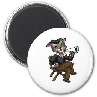 ハリウッド猫 マグネット