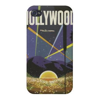 ハリウッド米国のヴィンテージ旅行ケース iPhone 4/4Sケース