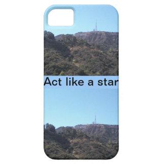 ハリウッド・スターのような行為 iPhone SE/5/5s ケース
