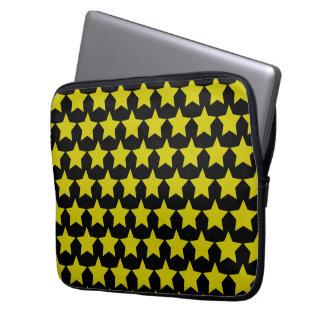 ハリウッド・スターのlapton 13´´sleeve (黒及び黄色) ラップトップスリーブ