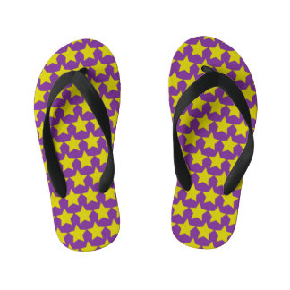 ハリウッド・スターはビーチサンダルをからかいます(紫色) キッズビーチサンダル