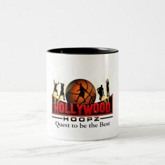 ハリウッドHoopzのベストがある探求 ツートーンマグカップ