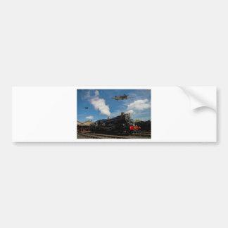 ハリケーンおよび蒸気の列車 バンパーステッカー