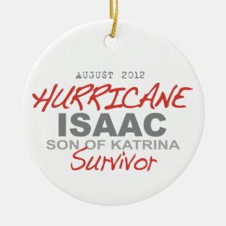 ハリケーンのアイザックの生存者 セラミックオーナメント