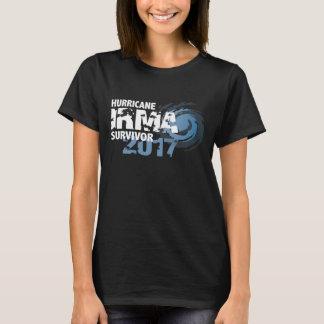 ハリケーンのイルマの生存者のフロリダの暗闇のTシャツ Tシャツ