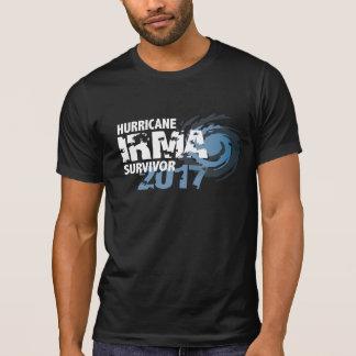ハリケーンのイルマの生存者のフロリダ2017の暗闇のワイシャツ Tシャツ