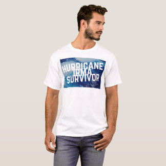 ハリケーンのイルマの生存者- Tシャツ