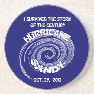 ハリケーンのサンディの円形のコースター コースター