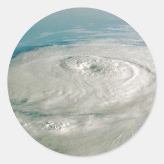 ハリケーンのステッカー ラウンドシール