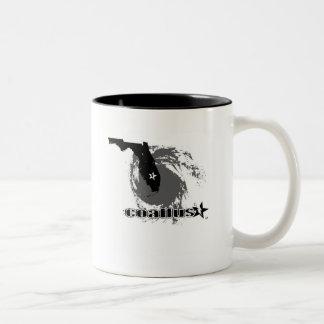 ハリケーンのマグ ツートーンマグカップ