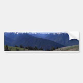 ハリケーンのリッジオリンピック国立公園のバンパーステッカー バンパーステッカー