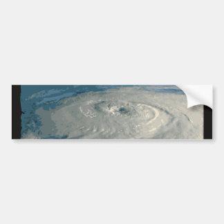 ハリケーンの目 バンパーステッカー