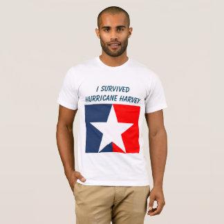ハリケーンのHarveyの生存者 Tシャツ