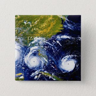 ハリケーンアンドリュー 5.1CM 正方形バッジ
